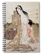 Japan: Abalone Diver Spiral Notebook
