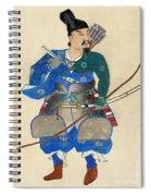 Japan: Archery Spiral Notebook