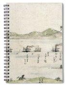 Japan: Matthew Perry, 1854 Spiral Notebook