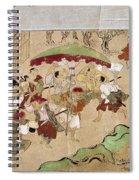 Japan: Peasants, C1575 Spiral Notebook