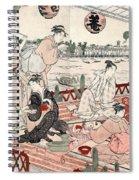 Japan: Restaurant, C1786 Spiral Notebook