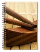 Japanese Chopsticks Spiral Notebook