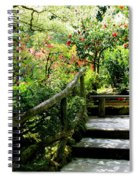 Japanese Garden Retreat Spiral Notebook