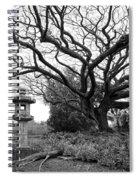 Japanese Lantern And Tree - Liliuokalani Park - Hilo Hawaii Spiral Notebook
