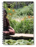 Japanese Woman Spiral Notebook