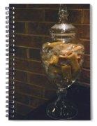 Jar Of Biscotti Spiral Notebook