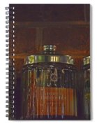 Jars Of Assorted Teas Spiral Notebook