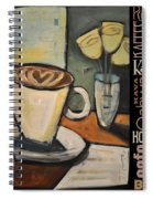 Java Coffee Languages Poster Spiral Notebook