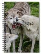 Jawing Spiral Notebook