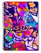 Jazz 4 All Spiral Notebook
