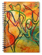 Jazz-funk Spiral Notebook