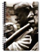 Jazz Legends Al Hirt And Pete Fountain Spiral Notebook