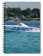 J.d. Byrider Offshore Racing Spiral Notebook