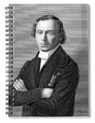 Jean Baptiste Andr� Dumas Spiral Notebook