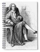 Jean Baptiste Rousseau Spiral Notebook