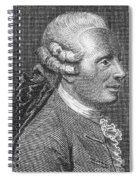 Jean Le Rond Dalembert, French Polymath Spiral Notebook