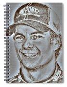 Jeff Gordon In 2010 Spiral Notebook
