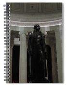 Jefferson In The Dark Spiral Notebook