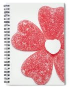 Jelly Candy Heart Flower 1 Spiral Notebook