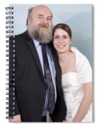 Jen And Matt 06 Spiral Notebook