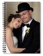 Jen And Matt 08 Spiral Notebook