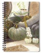 Jennifer's Pumpkins Spiral Notebook