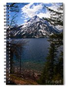 Jenny Lake In The Grand Teton Area Spiral Notebook