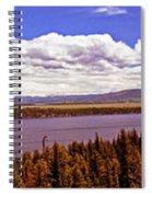 Jenny Lake Panorama Spiral Notebook