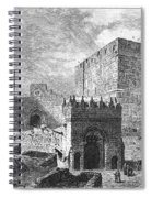 Jerusalem: Citadel Spiral Notebook