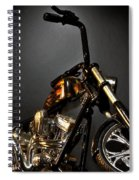 Jesse James Bike 2 Detroit Mi Spiral Notebook