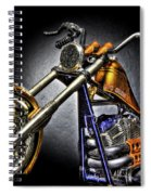 Jesse James Bike Detroit Mi Spiral Notebook