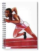 Jesse Owens Spiral Notebook