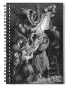 Jesus: Deposition Spiral Notebook