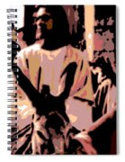 Jesus Rides Into Jerusalem Spiral Notebook