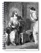 Jesus With Mary & Martha Spiral Notebook