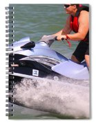 Jet Ski Speed Spiral Notebook