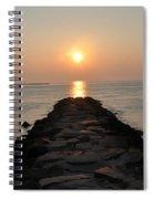 Jetty Sunrise Spiral Notebook