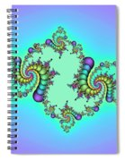 Jewel Of Life Spiral Notebook