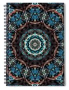 Jeweled Turquoise Spiral Notebook