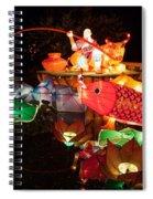 Jiang Tai Gong Fishing Spiral Notebook