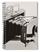 Jiffy Kodak Vp Camera Spiral Notebook