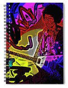 Jimi Hendrix Number 22 Spiral Notebook
