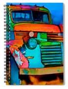 Jimmy In Taos II Spiral Notebook