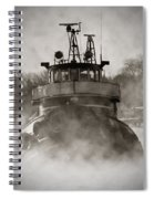 Jimmy L Bow Spiral Notebook