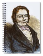 J�ns Jacob Berzelius, Father Of Swedish Spiral Notebook