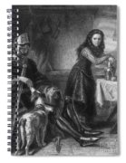 Joan Of Arc, French National Heroine Spiral Notebook