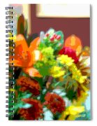Joannes Flowers Spiral Notebook