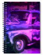 Joe And The Pontiac Truck Spiral Notebook