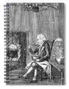 Joel Barlow Frontispiece Spiral Notebook
