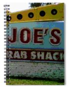 Joe's Crab Shack Spiral Notebook